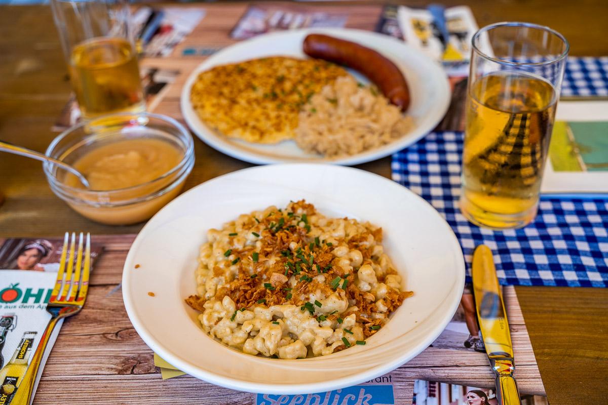Seeblick Restaurant at Stausee Steg, Liechtenstein