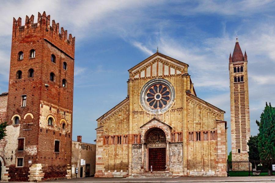 Basilica di San Zeno Maggiore in Verona, Italy