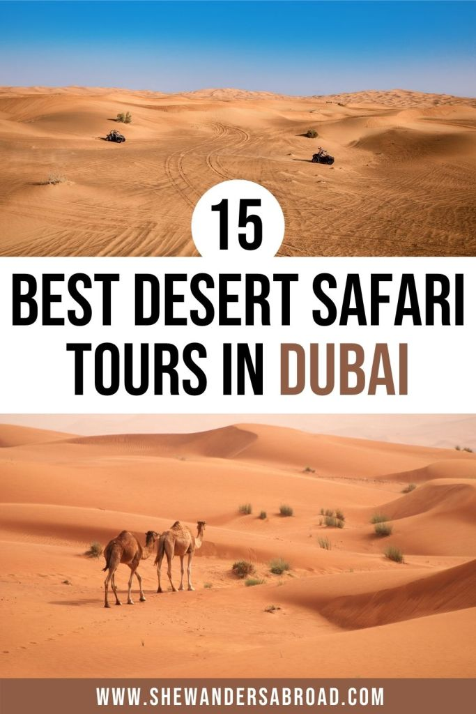 15 Best Desert Safaris in Dubai You Can't Go Wrong With