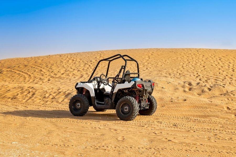 Dubai desert safari with dune buggy