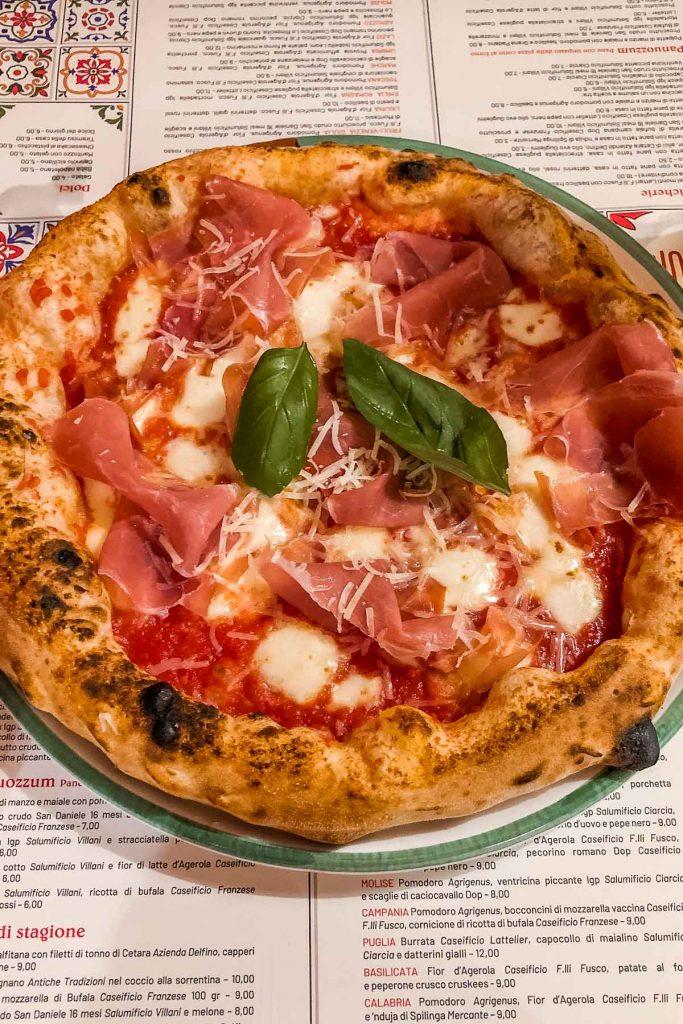Pizza at Pizzium, Milan
