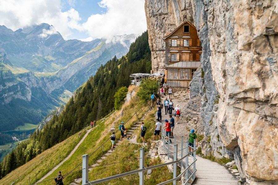 Aescher-Wildkirchli, Ebenalp, Switzerland
