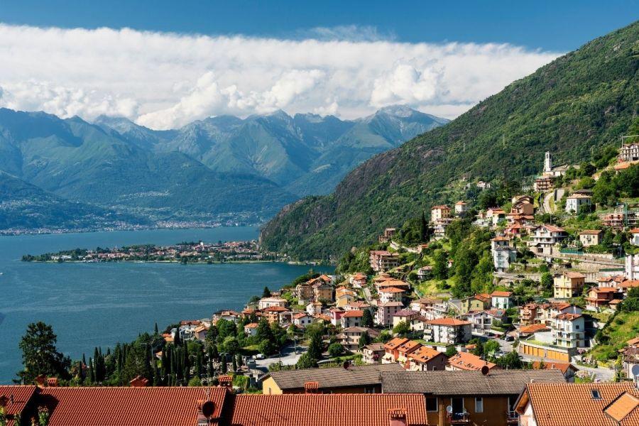 Bellano at Lake Como, Italy