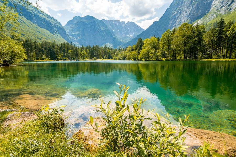 Bluntausee, an unmissable stop on every Austria road trip itinerary
