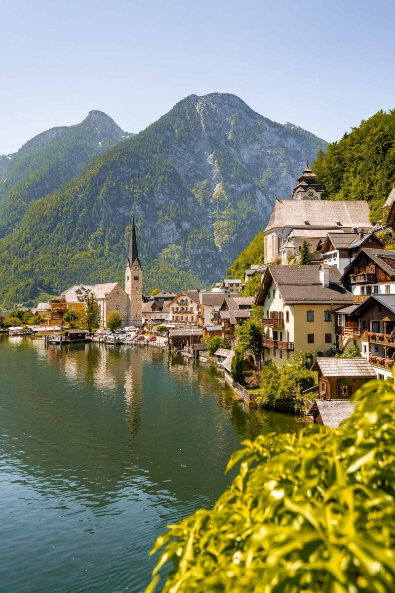 Panoramic view of Hallstatt that you have to see even if you have only one day in Hallstatt