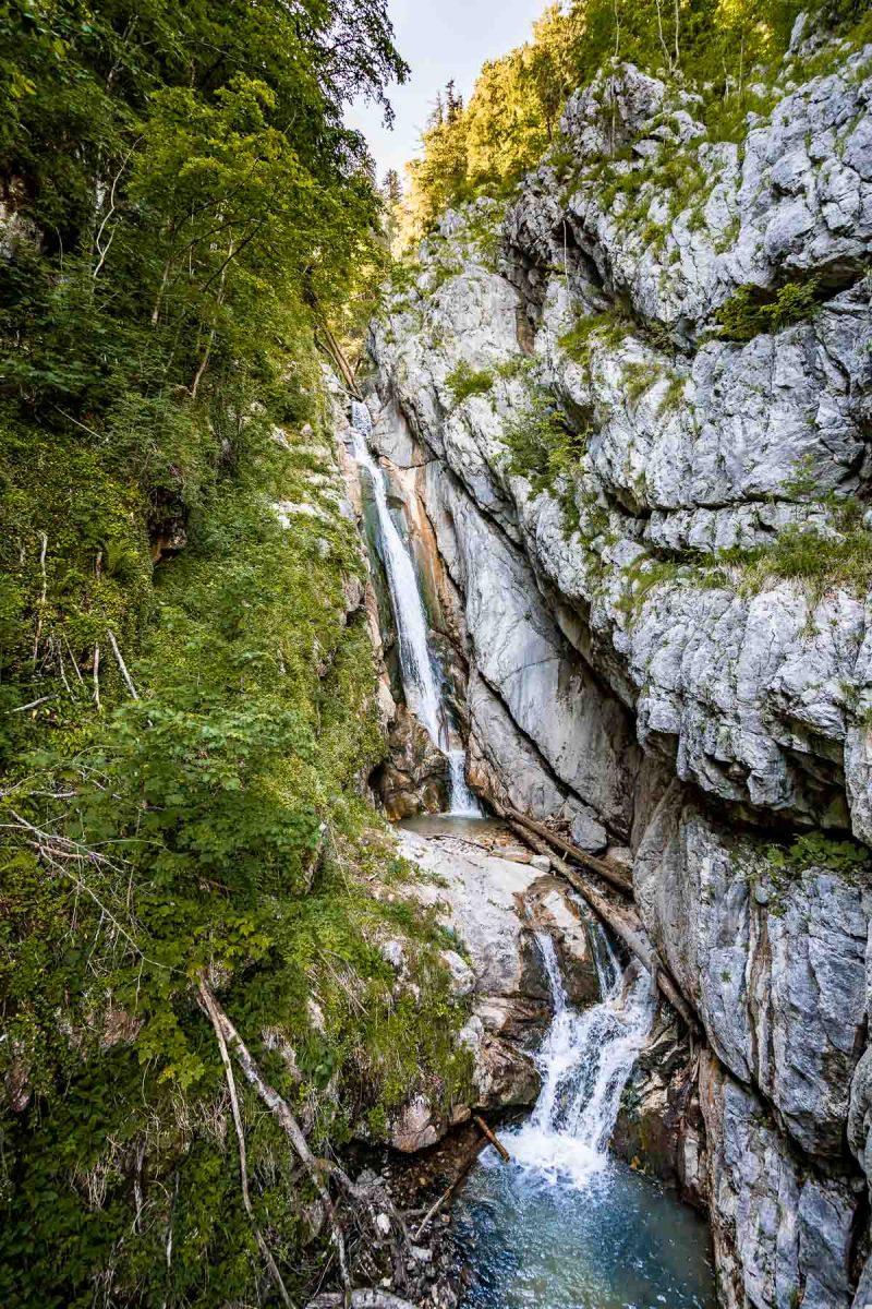 Hallstatt Waterfall
