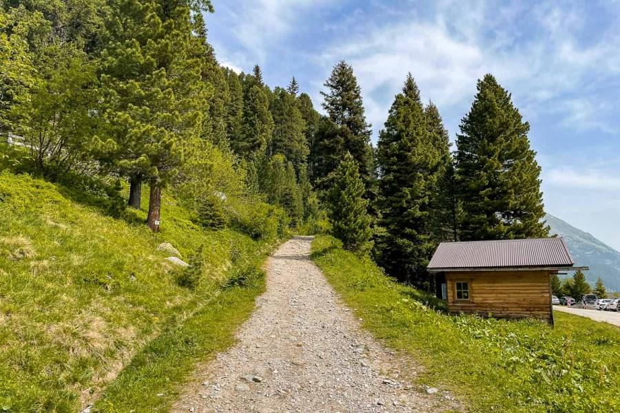 Olpererhütte hiking trail