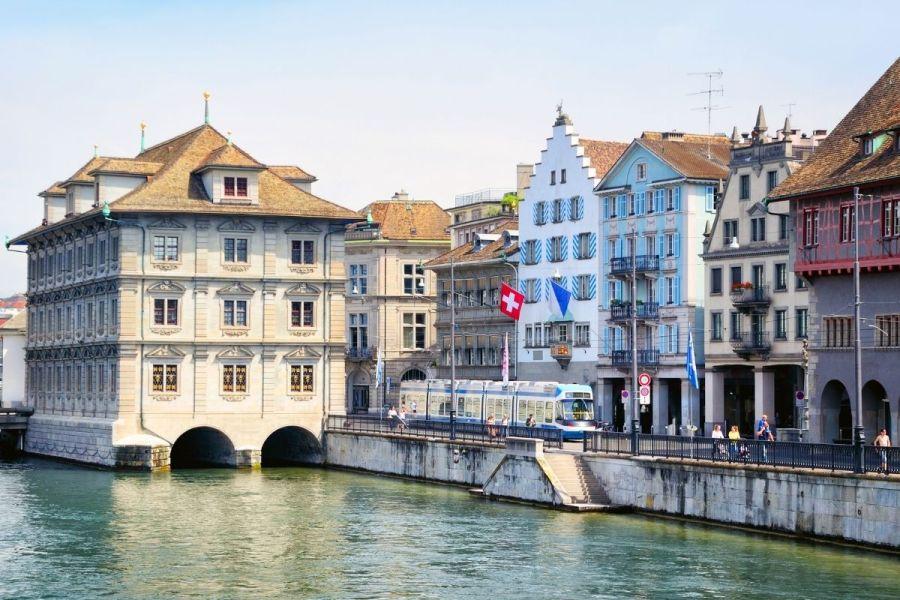 Rathaus (City Hall) in Zurich