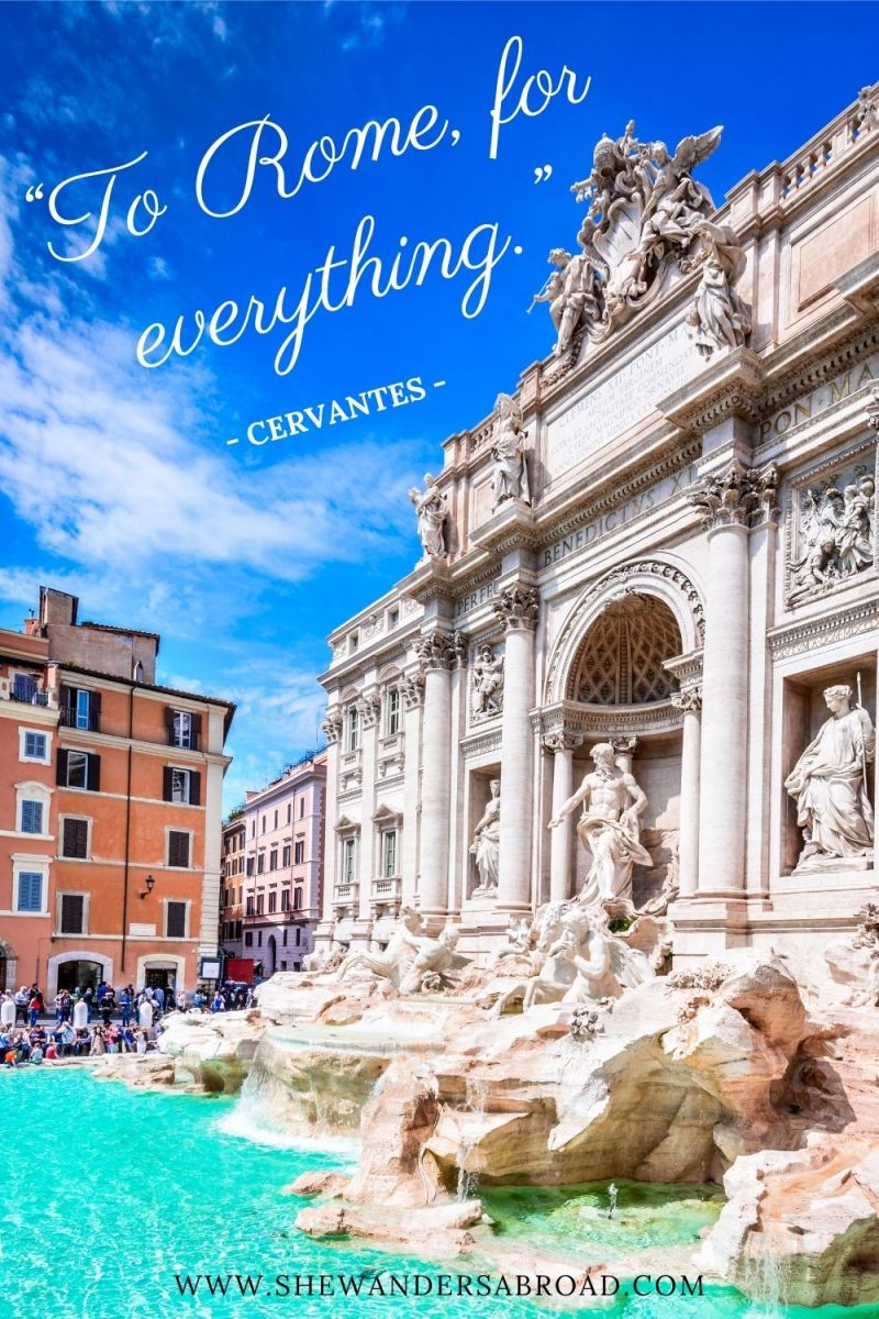 Short Rome Quotes for Instagram