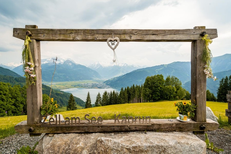 View from Mitterberghof Jausenstation, Austria