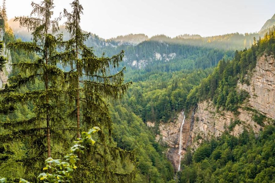 Waldbachstrub waterfall Hallstatt