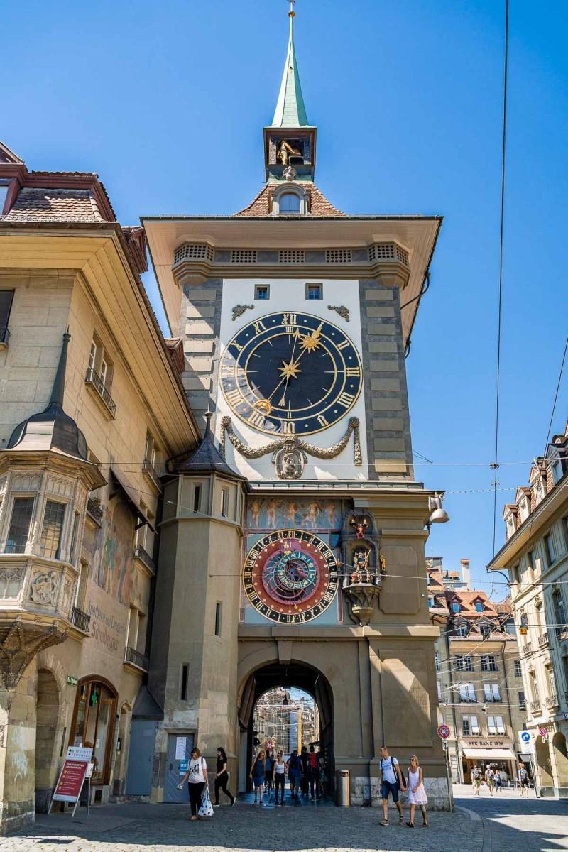 Zytglogge in Bern, Switzerland