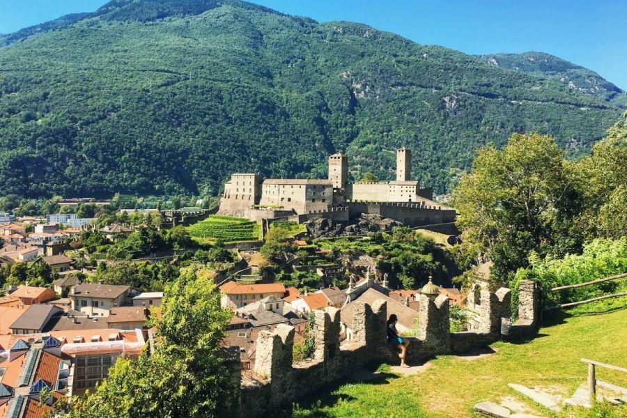 Castles of Bellinzona, Switzerland