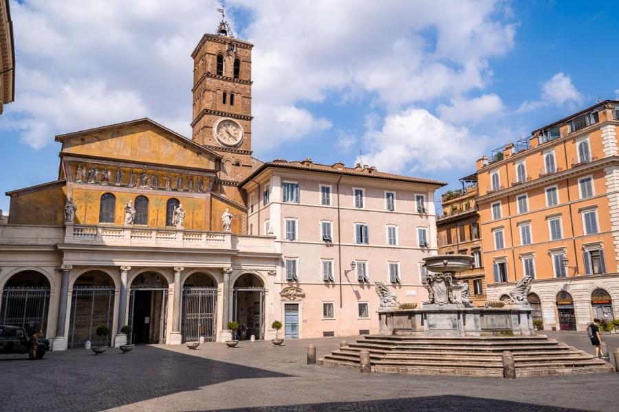 Basilica di Santa Maria in Trastevere, Rome