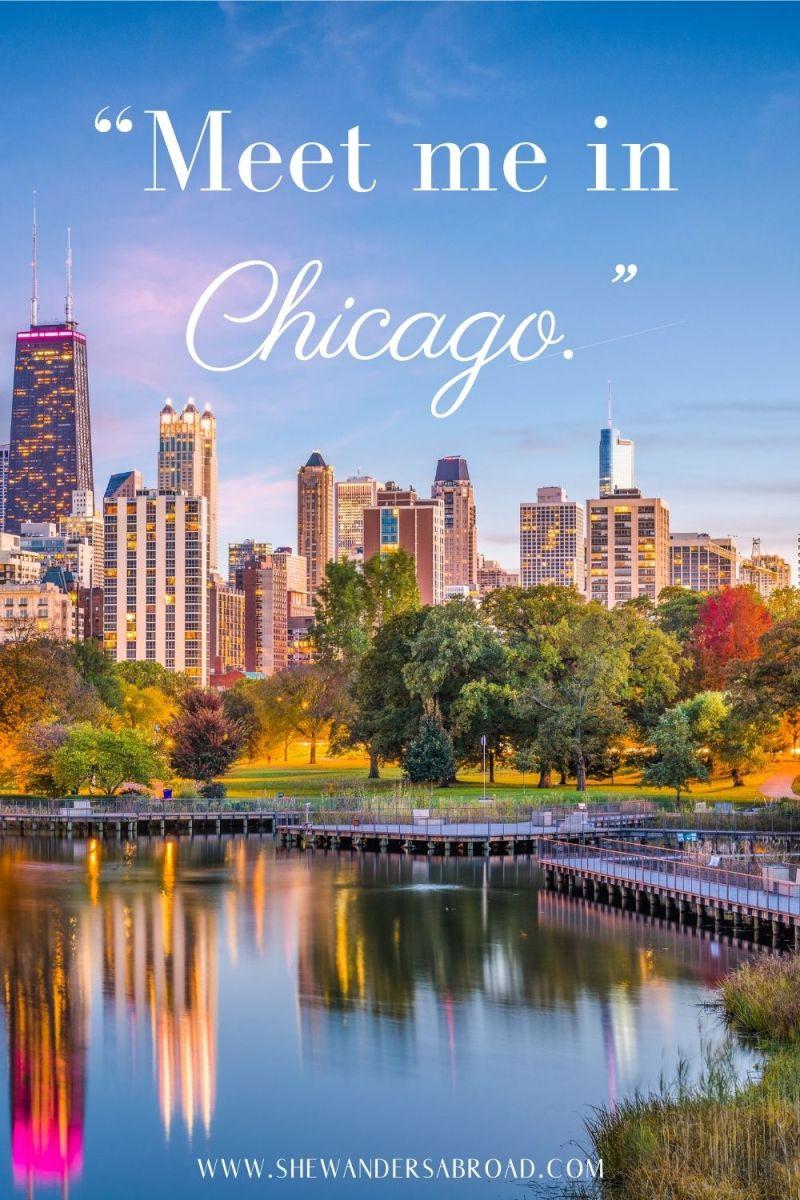 Short Instagram Captions for Chicago