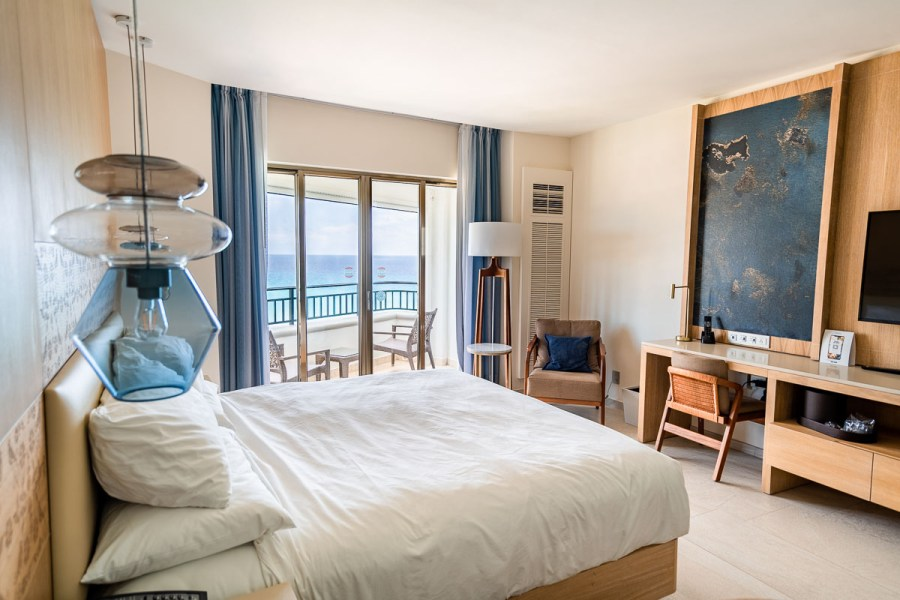 Deluxe Guest Room with Premium Ocean View at JW Marriott Cancun