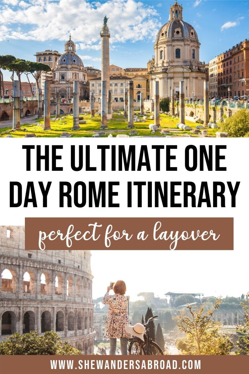 How to See the Best of Rome in a Day