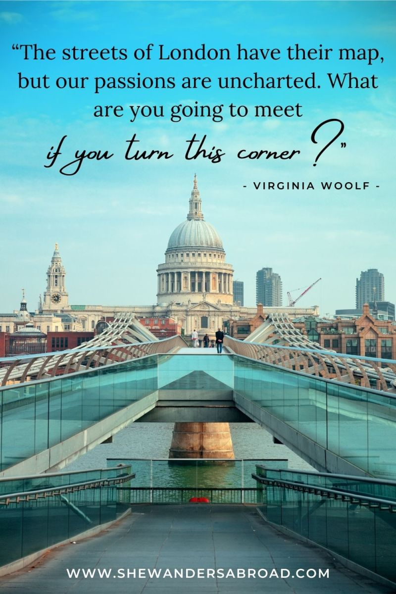 Meaningful London Quotes for Instagram