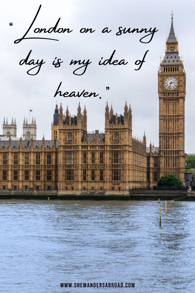 Stunning London Captions for Instagram