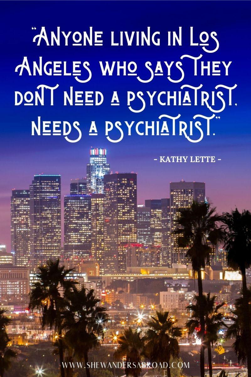 Funny Los Angeles Instagram Quotes