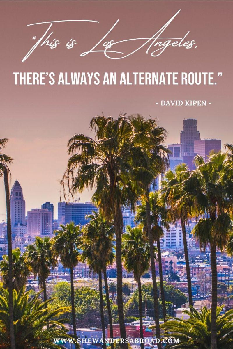 Los Angeles Sayings