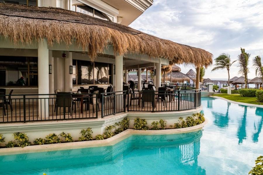 Exterior of Sedona Grill at JW Marriott Cancun