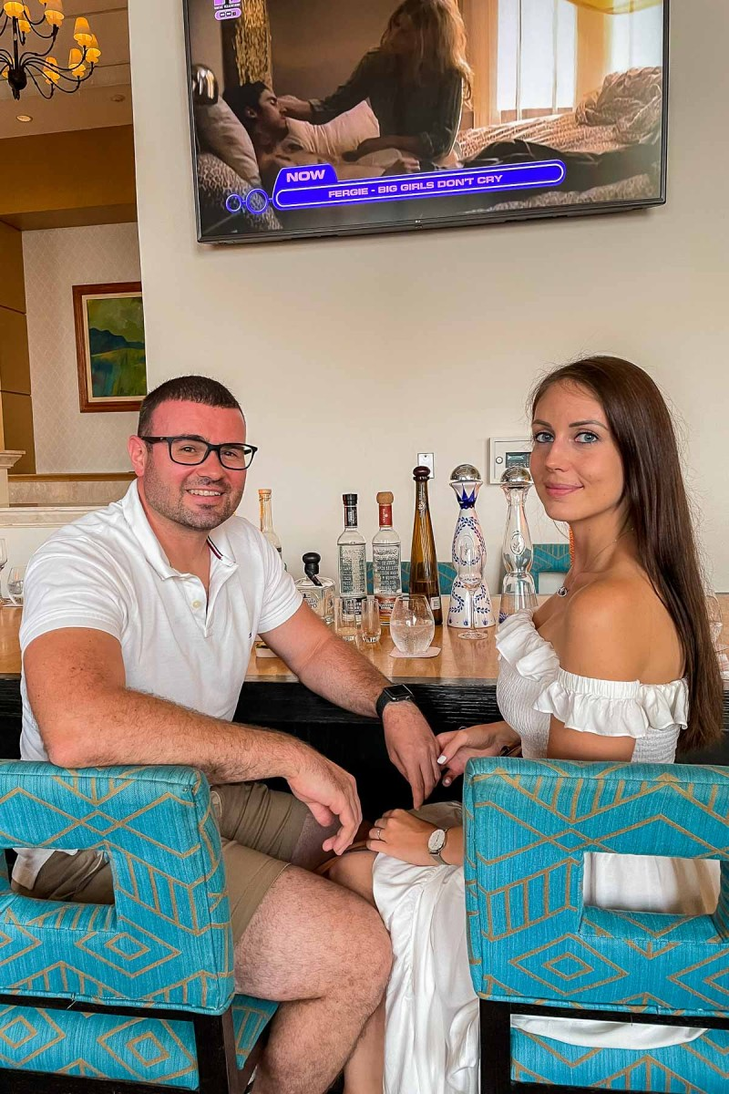 Tequila tasting at JW Marriott Cancun