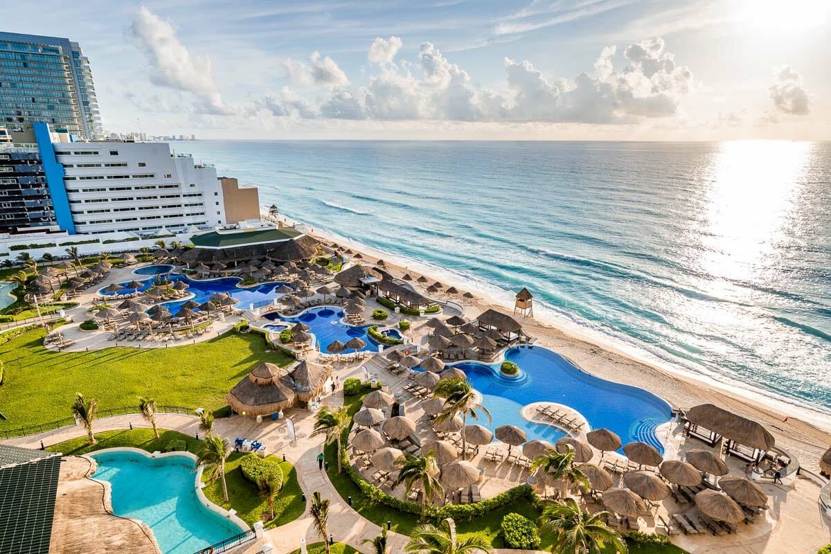 View from the room at JW Marriott Cancun