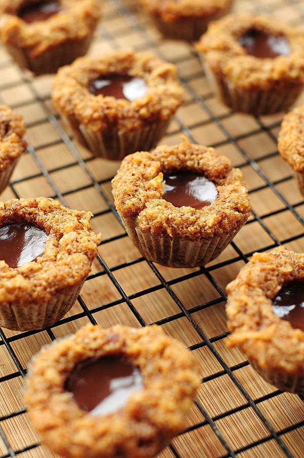 Grain-free Chocolate Coconut Mini Muffins Recipe   shewearsmanyhats.com