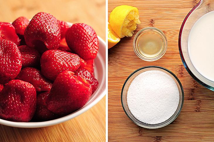 Strawberry Sherbet Recipe