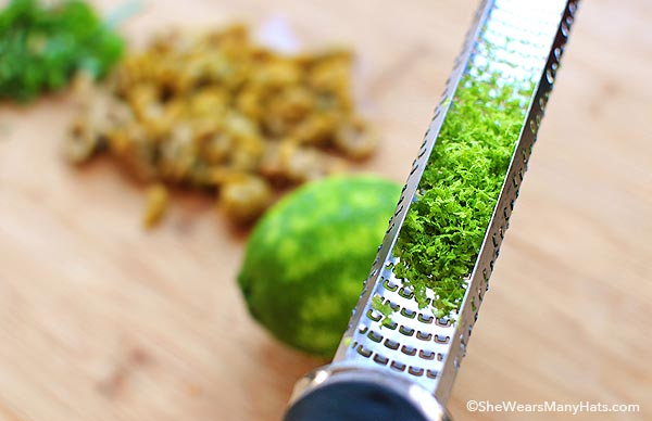 Spinach Pasta with Lime Recipe