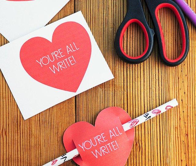 Kids Valentines Day Card Free Printable Shewearsmanyhats Com