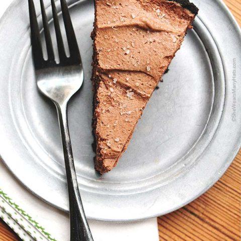 Bailey's Salted Caramel Chocolate Pie Recipe