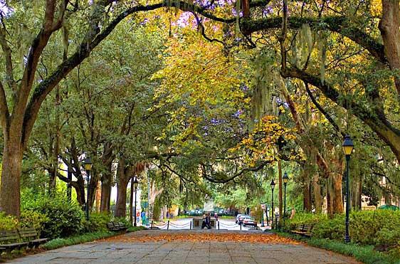 savannah georgia park