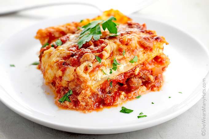 Perfect Lasagna Recipe