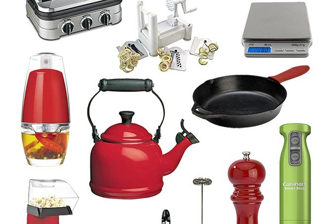A great selection of ideas for culinary gifts with a range of prices.