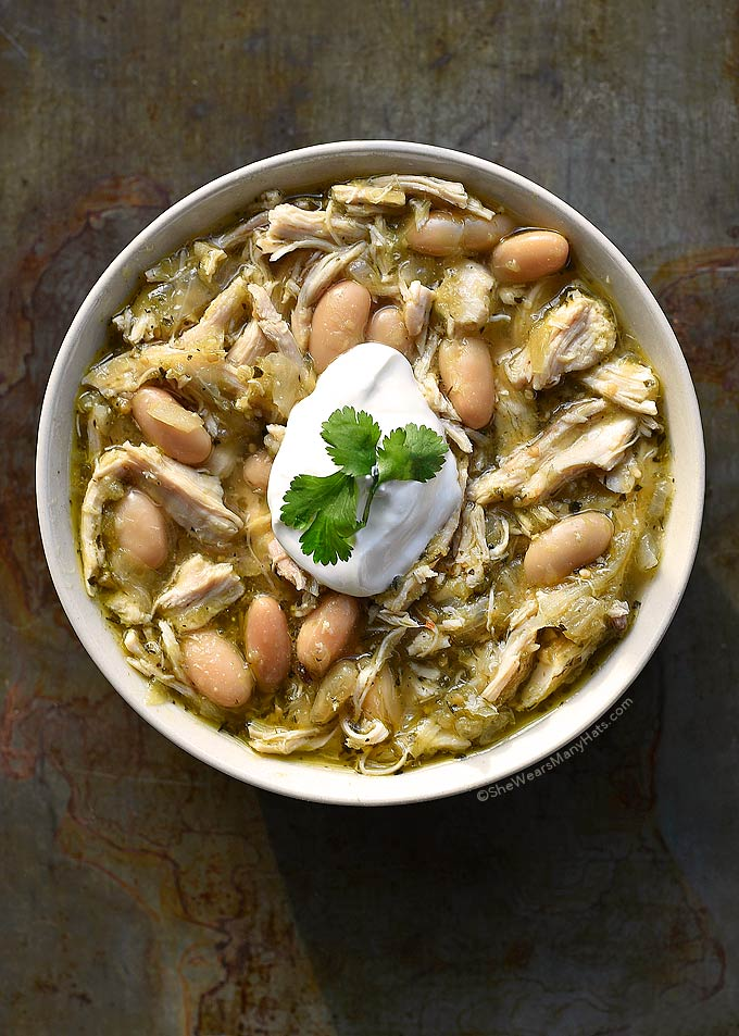 Chicken Verde Chili Recipe