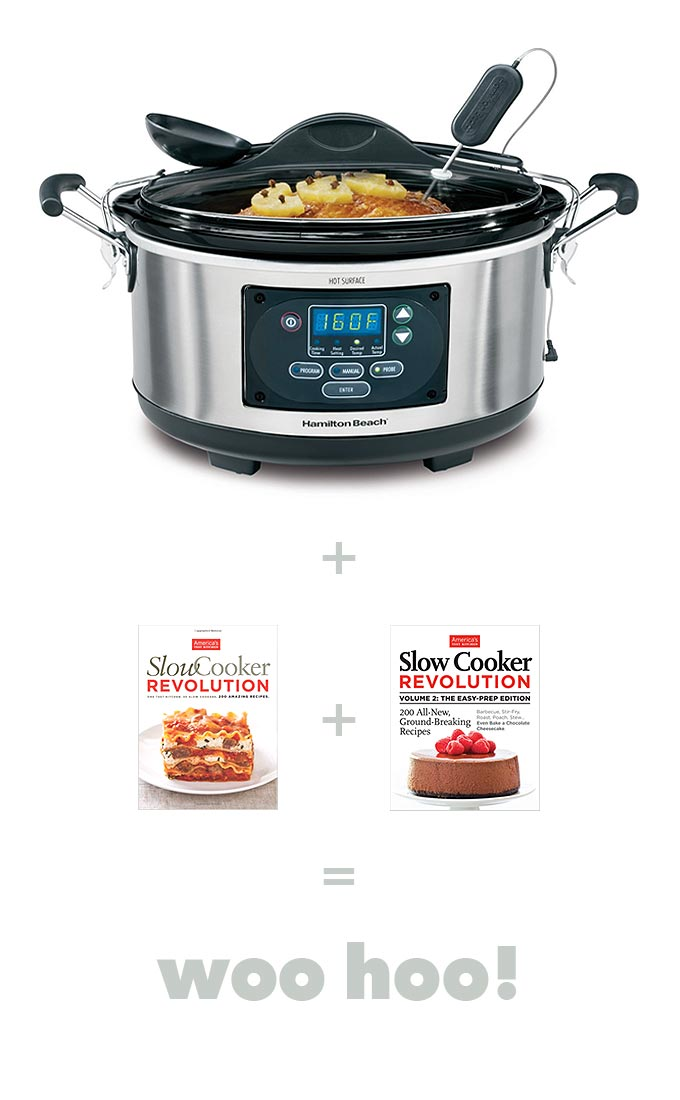Slow Cooker and Slow Cooker Cookbook Giveaway photo