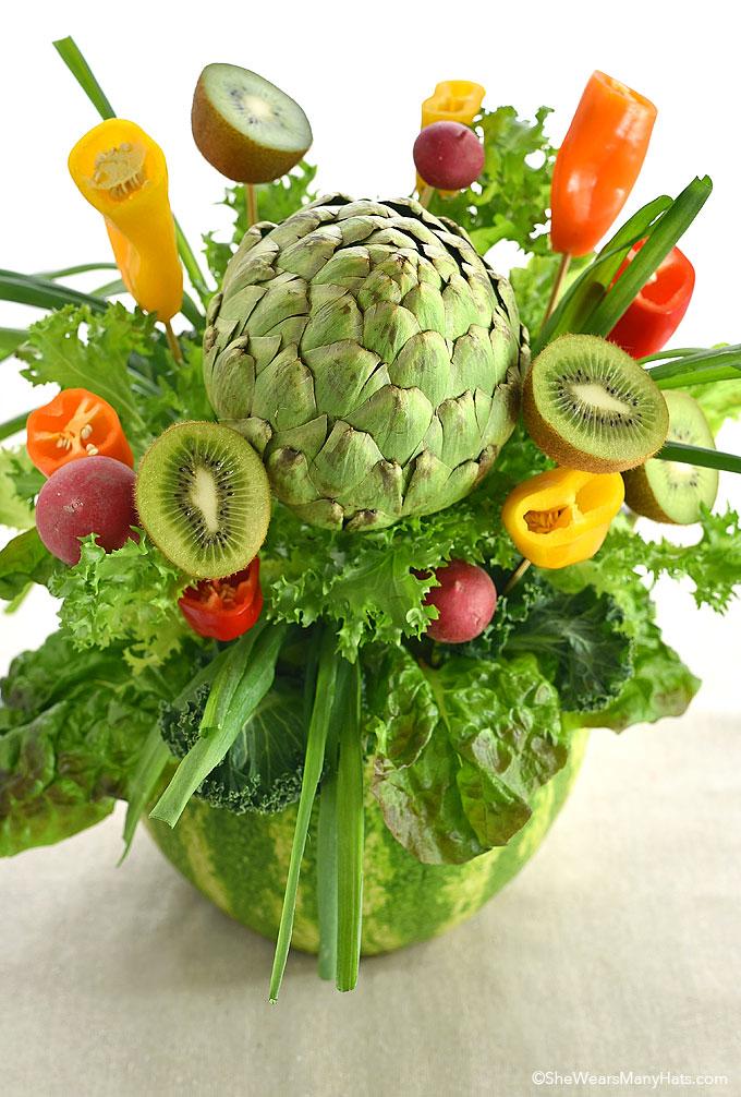 Easy Fruit Centerpiece