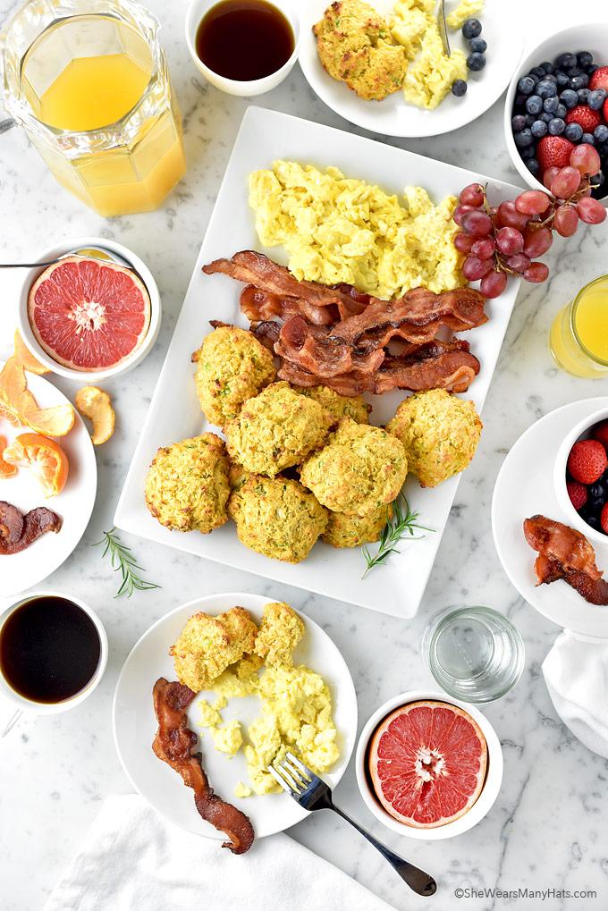 Easy Sweet Potato Cheddar Drop Biscuits Recipe   shewearsmanyhats.com
