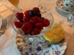 Macerated Berries Muffin Egg Bake