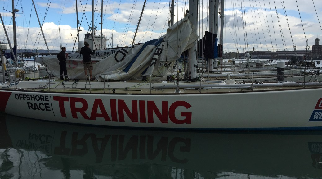 Clipper Race Interview - Training Yacht