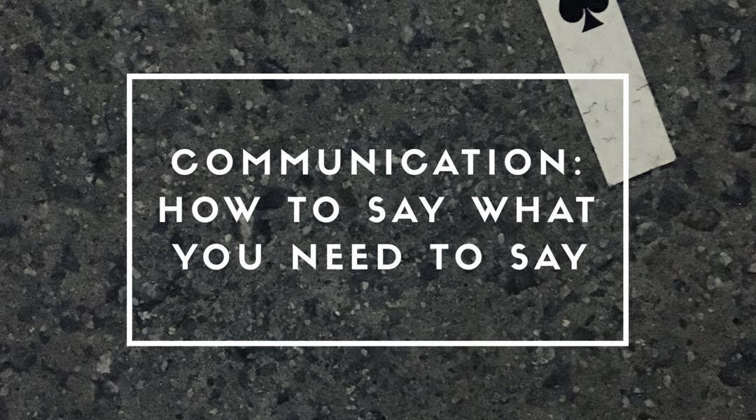 commuinication | honesty | respect | kindness | body language