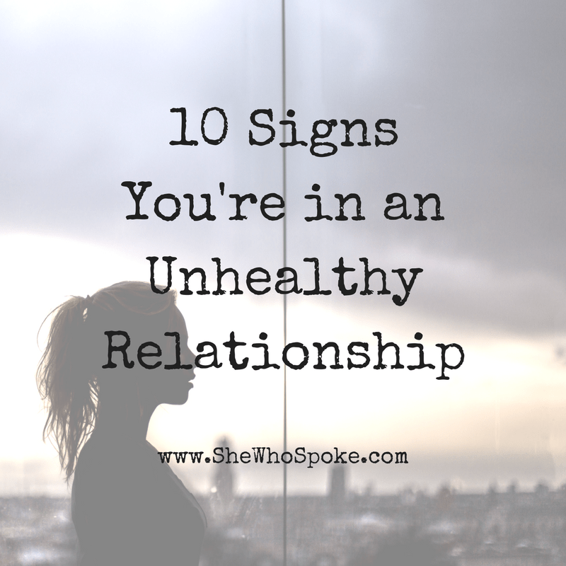 How to break away from an unhealthy relationship