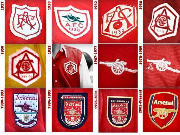arsenal crest old
