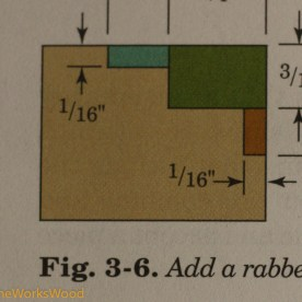Then layout lines per Matt Bickford's Mouldings book.