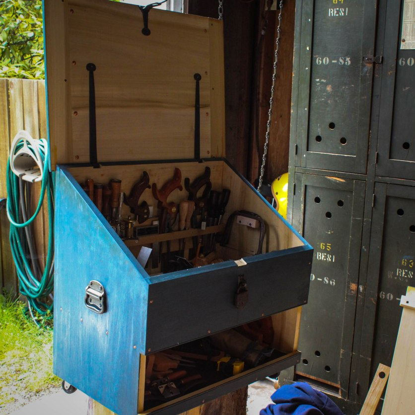 My Dutch Tool chest that traveled with me.