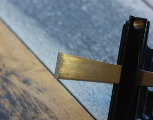 Once the bevel reaches all the way to the edge, I check to see if the I've effected the edge.