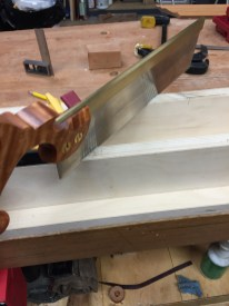 And cutting the kerf.