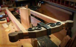 Resaw in progress.